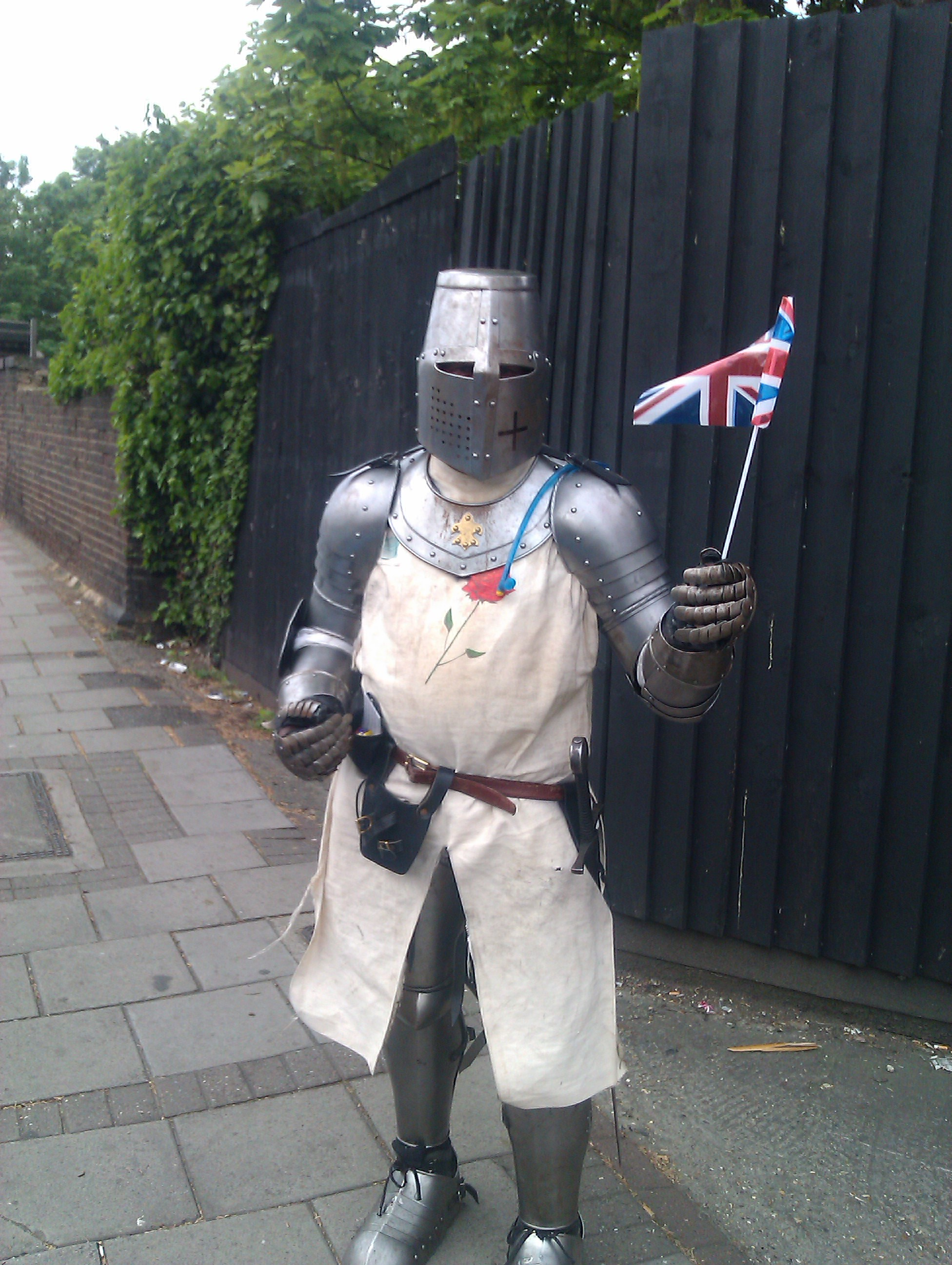 Lonely Knight in Tooting