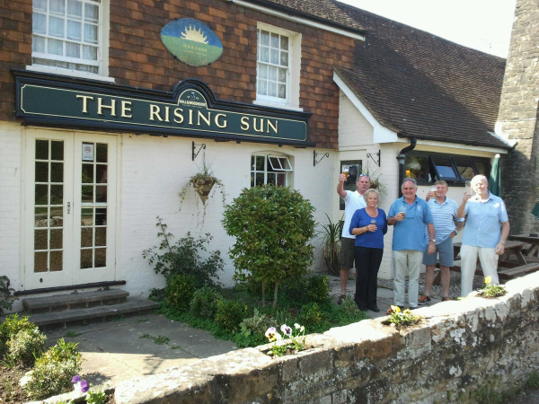 At the Rising Sun