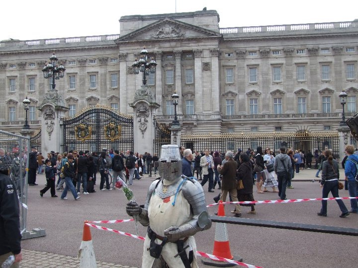 Knight at the Palace